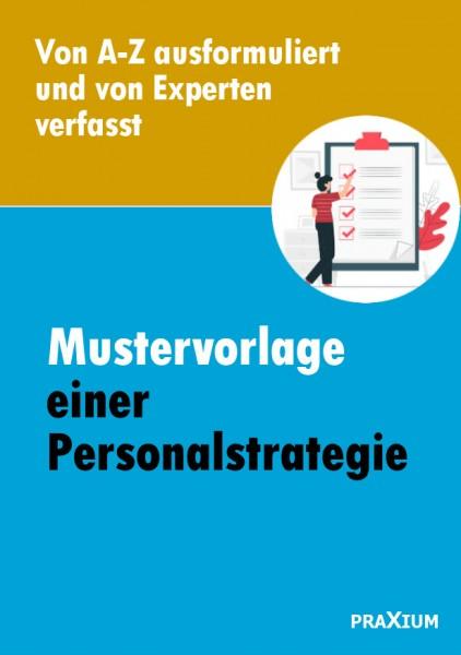 Mustervorlage einer Personalstrategie plus Powerpoint-Präsentation