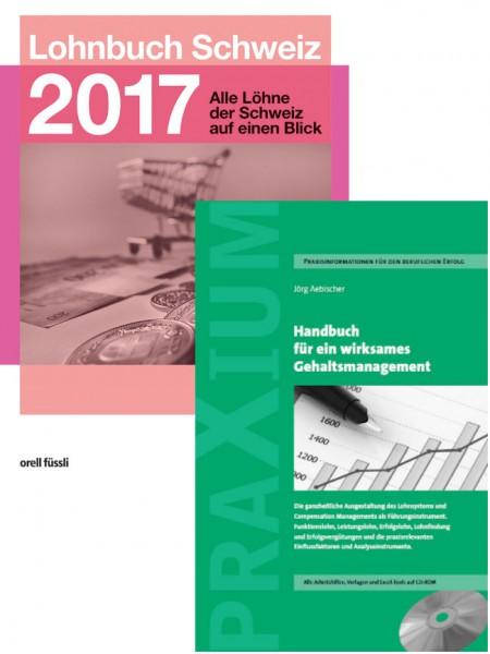 Bundle Lohnbuch 2017 + Handbuch zum Gehaltsmanagement