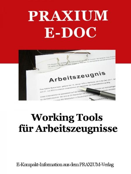 Working Tools für Arbeitszeugnisse