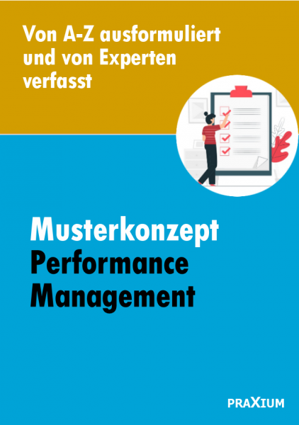 Musterkonzept zum Performance Management