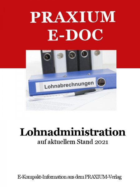 E-Doc Lohnadministration Stand 2021