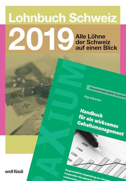 Bundle Lohnbuch 2019 + Handbuch zum Gehaltsmanagement