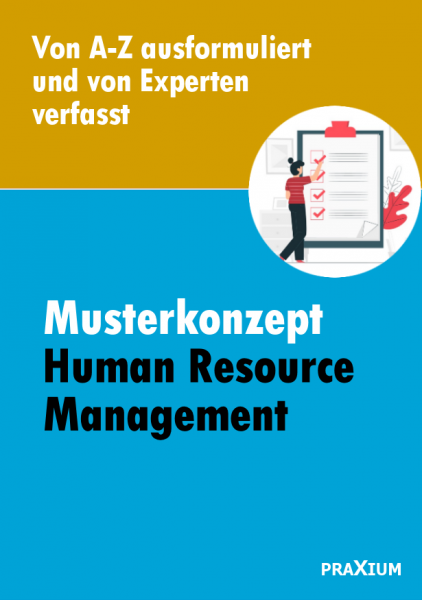 Musterkonzept zum Human Resource Management