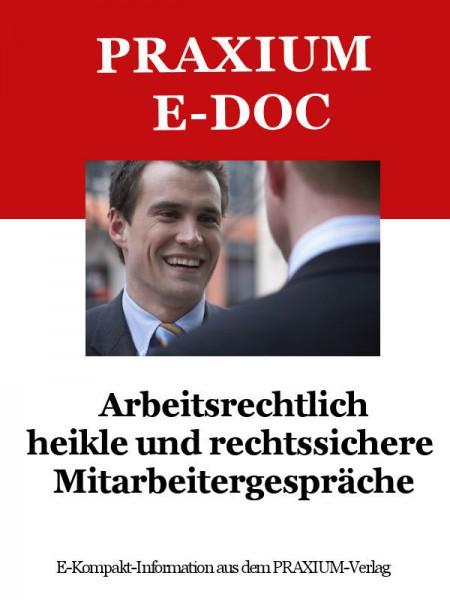 Arbeitsrecht bei Kündigungen und Kündigungsfristen (E-Doc)