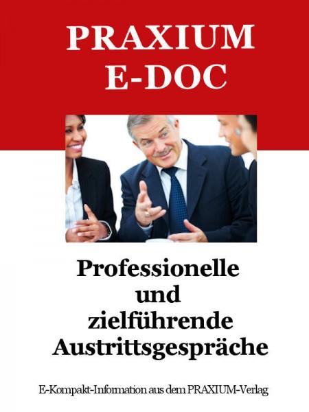 Professionelle Austrittsgespräche (E-Doc)