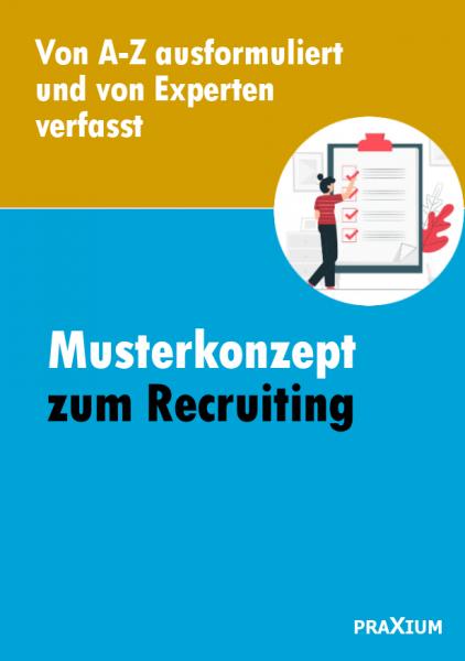 Musterkonzept zum Recruiting