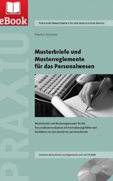 Musterbriefe und Musterreglemente für das Personalwesen (E-Book)