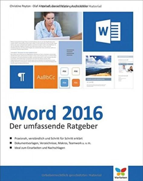 Das grosse Handbuch zu Word 2016