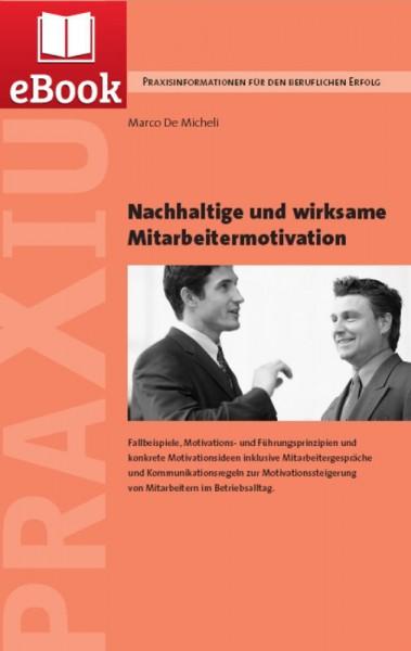 Nachhaltige und wirksame Mitarbeitermotivation (E-Book)