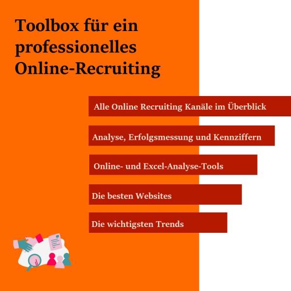 E-Toolbox für ein professionelles Online-Recruiting