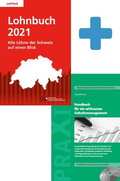 Bundle Lohnbuch 2021 + Handbuch zum Gehaltsmanagement
