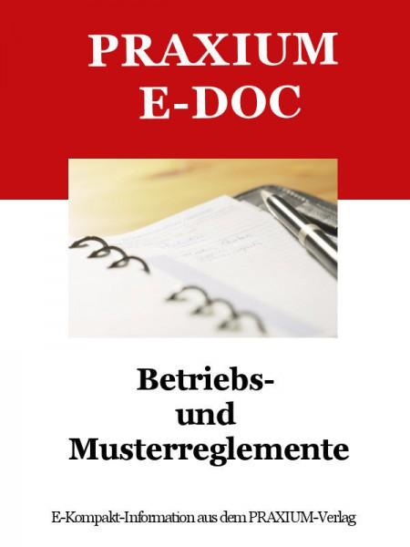 Betriebs- und Musterreglemente (E-Doc)