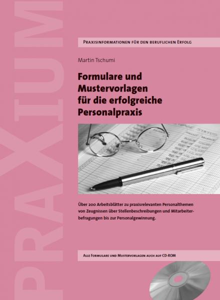 Mustervorlagen und Formulare für die Personalpraxis