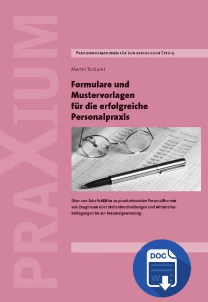 Mustervorlagen und Formulare für die Personalpraxis (E-Book)
