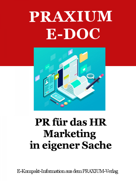 PR für das HR – Marketing in eigener Sache