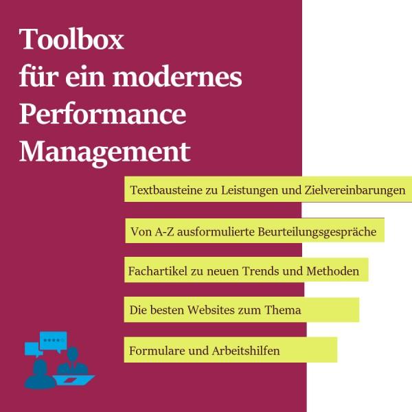 E-Toolbox für ein modernes Performance Management